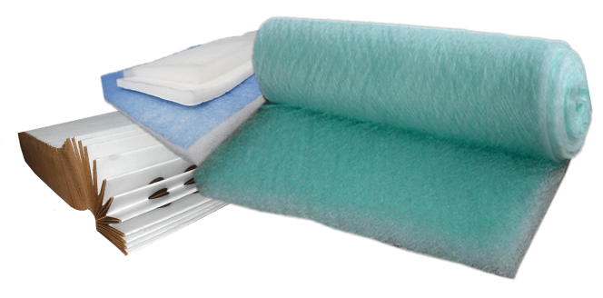 Paper Filter and Synthetic Media Roll (HVAC Filtration - EIF))