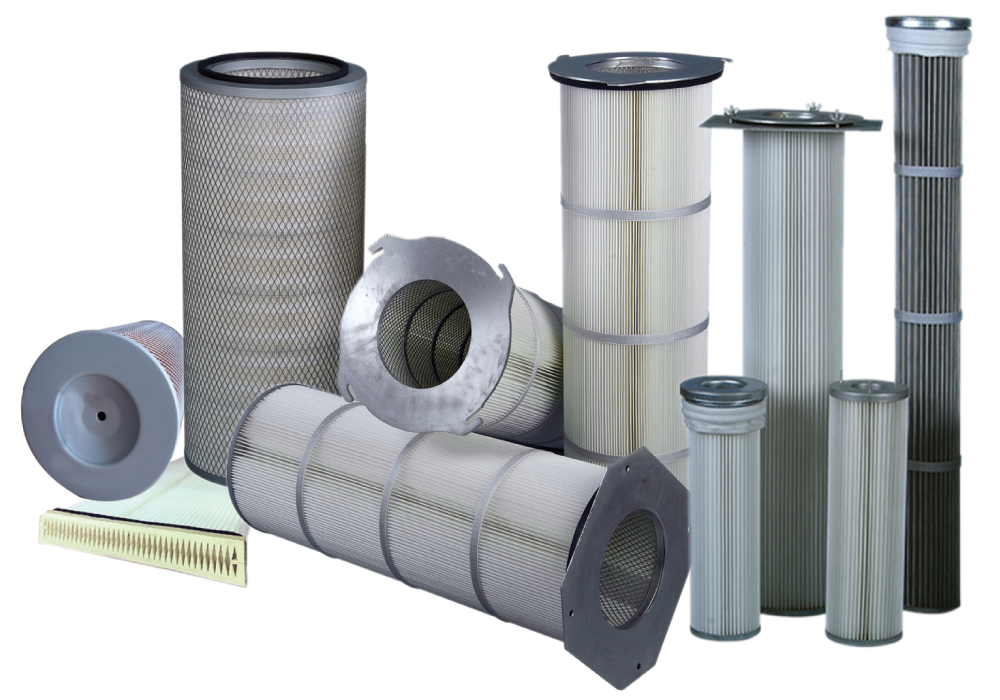 Dust Cartridge Filters (Emirates Industrial Filters)
