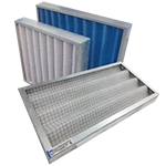 Corrugated Panel Filter (HVAC Filtration - EIF))