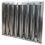 SS Baffle Filter (HVAC Filtration - EIF))